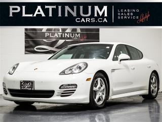 Used 2012 Porsche Panamera 4 AWD, NAVI, CAM, SUNROOF, Heated F/R Seats for sale in Toronto, ON