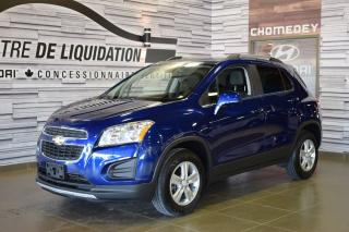 Used 2015 Chevrolet Trax Lt+ Awd+toit+mags+ca for sale in Laval, QC