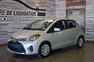 Used 2015 Toyota Yaris Le+gr Electrique+a/c for sale in Laval, QC