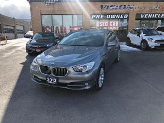 Used 2013 BMW 535 I i xDrive (A8)/CLEAN CAR PROOF/NAVI/SENSORS for sale in North York, ON