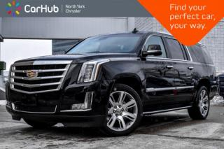 Used 2018 Cadillac Escalade ESV Luxury|AWD|Sunroof|7-Seater|Heat.Frnt.Seats|Bluetooth|22