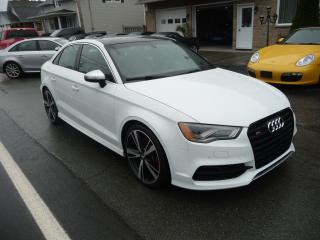Used 2015 Audi S3 2.0T Technik for sale in Ste-Marie, QC