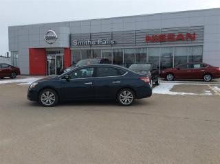 Used 2014 Nissan Sentra 1.8 SL Tech for sale in Smiths Falls, ON