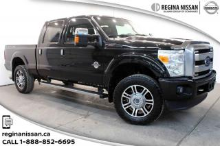 Used 2015 Ford F-350 4x4 - Chassis Crew Cab Lariat - SRW Platinum PKG!!!DIESEL!!! for sale in Regina, SK