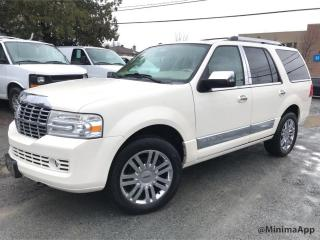 Used 2007 Lincoln Navigator 4wd, Ultimate, 8 passagers for sale in Drummondville, QC