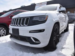 Used 2016 Jeep Grand Cherokee SRT NAVI/DUAL PANE SUNROOF/BORLA EXHAUST/2 SETS OF for sale in Concord, ON