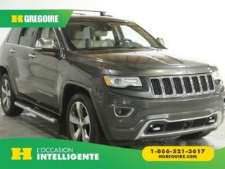 Used 2015 Jeep Grand Cherokee OVERLAND 4X4 AC GR for sale in St-Léonard, QC