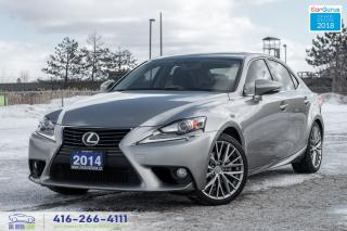 Used 2014 Lexus IS 250 AWD CERTIFIED SERVICED NO ACCIDENTS SPOTLESS TINT for sale in Bolton, ON