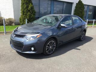 Used 2016 Toyota Corolla Berline 4 portes CVT S for sale in Drummondville, QC