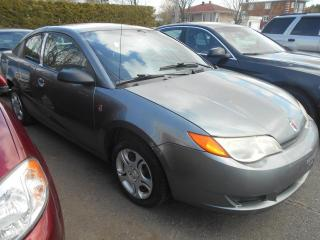 Used 2005 Saturn Ion Coupé 2 portes, Ion 2 niveau moyen, boît for sale in Sorel-Tracy, QC