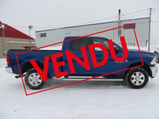 Used 2014 RAM 2500 Cabine multiplaces 4RM, 149po Outdoorsm for sale in Lévis, QC