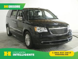 Used 2015 Chrysler Town & Country LTD AC GR ELEC for sale in St-Léonard, QC