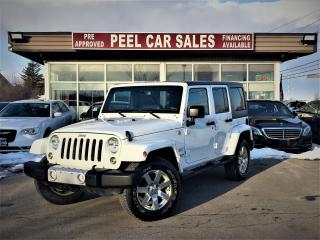 Used 2015 Jeep Wrangler Sahara|NAVI|LEATHER| for sale in Mississauga, ON