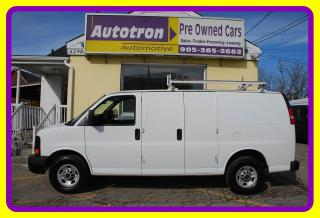 Used 2014 GMC Savana 2500 3/4 Ton Cargo Van, ROOf RACK, REVERSE CAMERA for sale in Woodbridge, ON