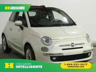 Used 2012 Fiat 500 AC GR ELEC TOIT for sale in St-Léonard, QC