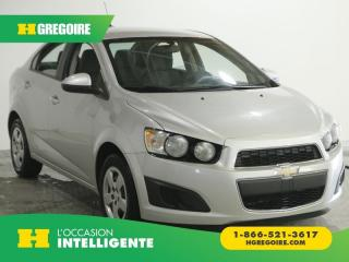 Used 2014 Chevrolet Sonic LS for sale in St-Léonard, QC