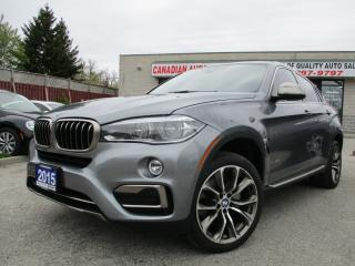 Used 2015 BMW X6 xDrive50i-NAV-ROOF-DISPLAY-LEATHER-CAMERA-BLUETOOT for sale in Scarborough, ON