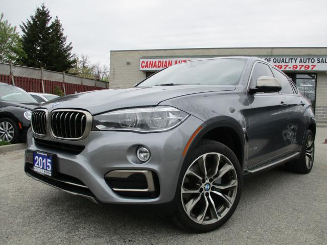 2015 BMW X6 xDrive50i-NAV-ROOF-DISPLAY-LEATHER-CAMERA-BLUETOOT