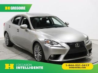 Used 2014 Lexus IS 250 AWD GR ELECT CUIR for sale in St-Léonard, QC