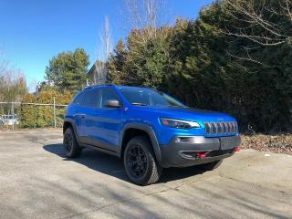 Used 2019 Jeep Cherokee TRAILHAWK 4X4 + APPLE CARPLAY & GOOGLE ANDROID AUTO + COLD WEATHER GROUP + NO EXTRA DEALER FEES for sale in Surrey, BC