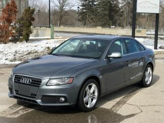 Used 2012 Audi A4 2.0T Premium|NO ACCIDENT|HWY MILEAGE for sale in Cambridge, ON