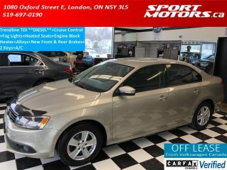 Used 2014 Volkswagen Jetta Trendline TDI+Fog Lights+Heated Seats+New Brakes for sale in London, ON