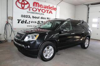 Used 2011 GMC Acadia SLE2 4 portes à traction avant for sale in Shawinigan, QC