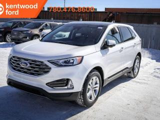 New 2019 Ford Edge SEL 201A, AWD, 2.0L, Ecoboost, Auto Start/Stop, Heated Power Seats, Heated Steering Wheel, Lane Keeping System, Reverse Camera, and NAV for sale in Edmonton, AB