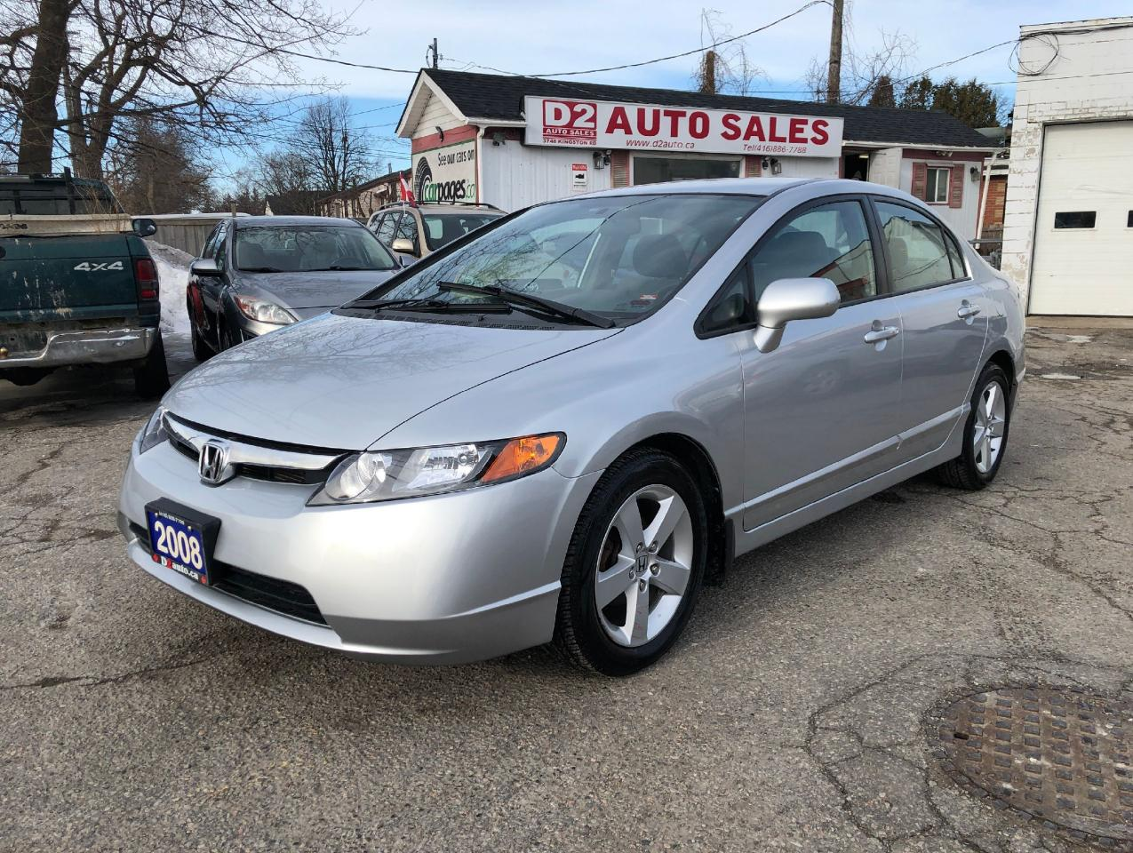 2008 Honda Civic LX/Certified/5 Speed Manual/Gas Saver