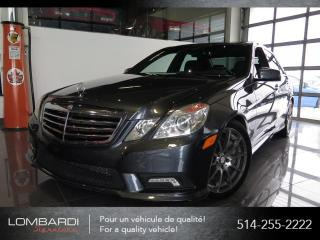 Used 2010 Mercedes-Benz E-Class E550|4MATIC|V8|NAVI|HARMAN/KARDON| for sale in Montréal, QC