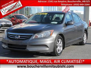 Used 2012 Honda Accord Se Bluetooth, A/c for sale in Boucherville, QC