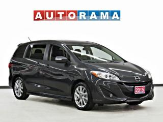Used 2015 Mazda MAZDA5 GT 6 PASSENGER BACK UP CAM LEATHER SUNROOF ALLOY for sale in Toronto, ON