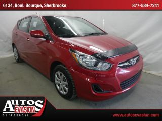 Used 2012 Hyundai Accent L Cert. for sale in Sherbrooke, QC