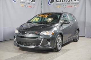 Used 2018 Chevrolet Sonic Lt Rs Turbo Sport for sale in Montréal, QC