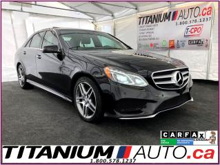Used 2015 Mercedes-Benz E-Class AMG PKG.-4Matic-GPS-360 Camera-Blind Spot-Sunroof- for sale in London, ON