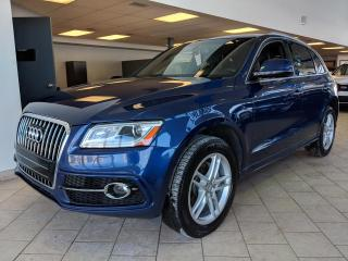Used 2016 Audi Q5 2.0T Progressiv S-Line Quattro Toit Pano for sale in Pointe-Aux-Trembles, QC