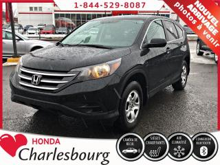 Used 2014 Honda CR-V LX **AUCUN ACCIDENT** for sale in Charlesbourg, QC