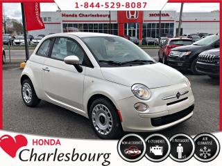Used 2013 Fiat 500 Pop **AUTOMATIQUE**CLIMATISEUR** for sale in Charlesbourg, QC