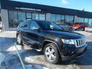 Used 2013 Jeep Grand Cherokee LIMITED OVERLAND 4X4 **CUIR+TOIT PANO+NA for sale in St-Hubert, QC