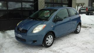 Used 2007 Toyota Yaris Ce, 3p, A/c for sale in Sherbrooke, QC