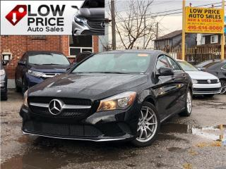 Used 2017 Mercedes-Benz CLA-Class AWD*Panoramic*Navi*BlindSpot&MBWARRANTY* for sale in Toronto, ON