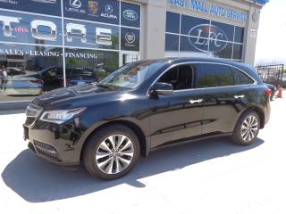 Used 2016 Acura MDX Navigation Package.7PASSENGERS for sale in Etobicoke, ON