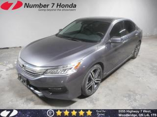 Used 2017 Honda Accord Touring V6| Loaded| Leather| Navi| for sale in Woodbridge, ON