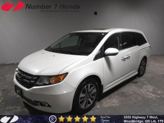 Used 2016 Honda Odyssey Touring| Loaded Options, Leather, Navi, DVD! for sale in Woodbridge, ON