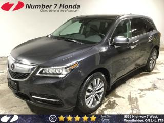 Used 2016 Acura MDX Navi, Leather, Backup Cam, All-Wheel Drive! for sale in Woodbridge, ON
