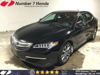 Used 2015 Acura TLX V6 Tech| Navi, Leather, Backup Cam for sale in Woodbridge, ON