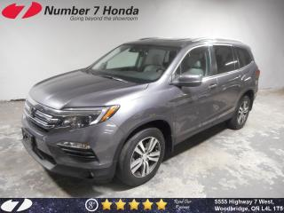 Used 2016 Honda Pilot EX-L| Navi, Leather, Backup Cam! for sale in Woodbridge, ON