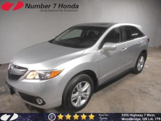 Used 2015 Acura RDX | Backup Cam, Leather, All-Wheel Drive! for sale in Woodbridge, ON