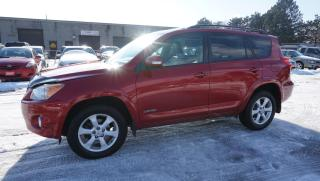Used 2009 Toyota RAV4 Limited V6 4WD CERTIFIED 2YR WARRANTY CAMERA SUNROOF LEATHER BLUETOOTH for sale in Milton, ON
