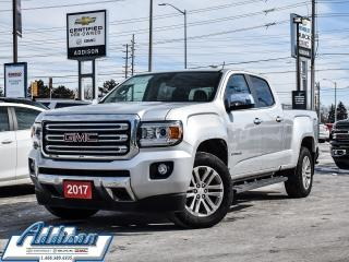 Used 2017 GMC Canyon SLT - Leather Seats -  Bluetooth for sale in Mississauga, ON